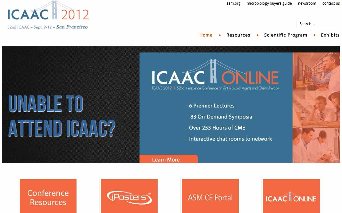 ICAAC (Interscience Conference on Antimicrobial Agents and Chemotherapy)